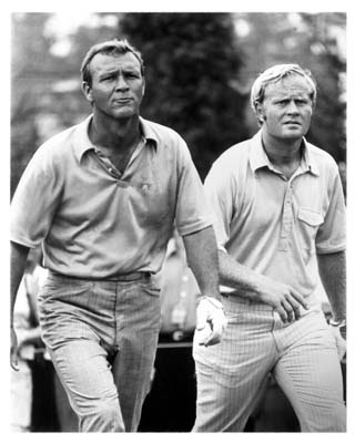 Best photo ever of Arnie & Jack