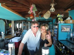 Hardroc behind the bar