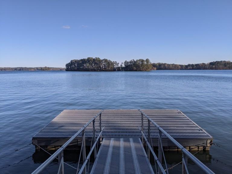 Sawnee campground dock