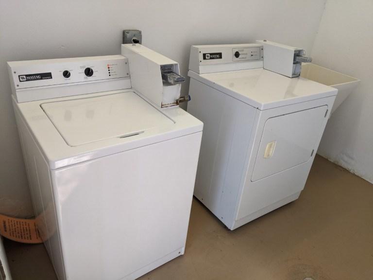 Sawnee campground laundry