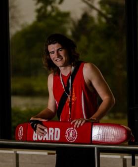 Editorial - Lifeguard portrait.