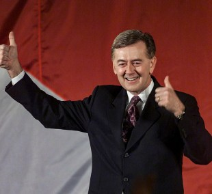 Editorial - Preston Manning when Alliance party was announced.