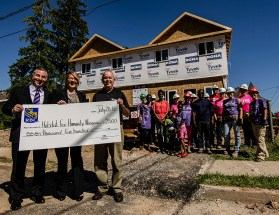 Editorial - RBC donation to Habitat for Humanity Niagara.