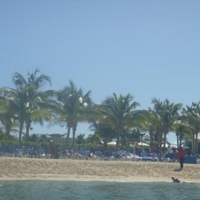 Carnival Conquest - Beach View - Grand Turks 2