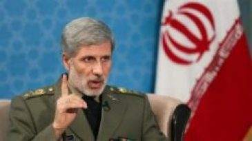 Amir Hatmi iran defence minister speaking in cabinet of Iran,