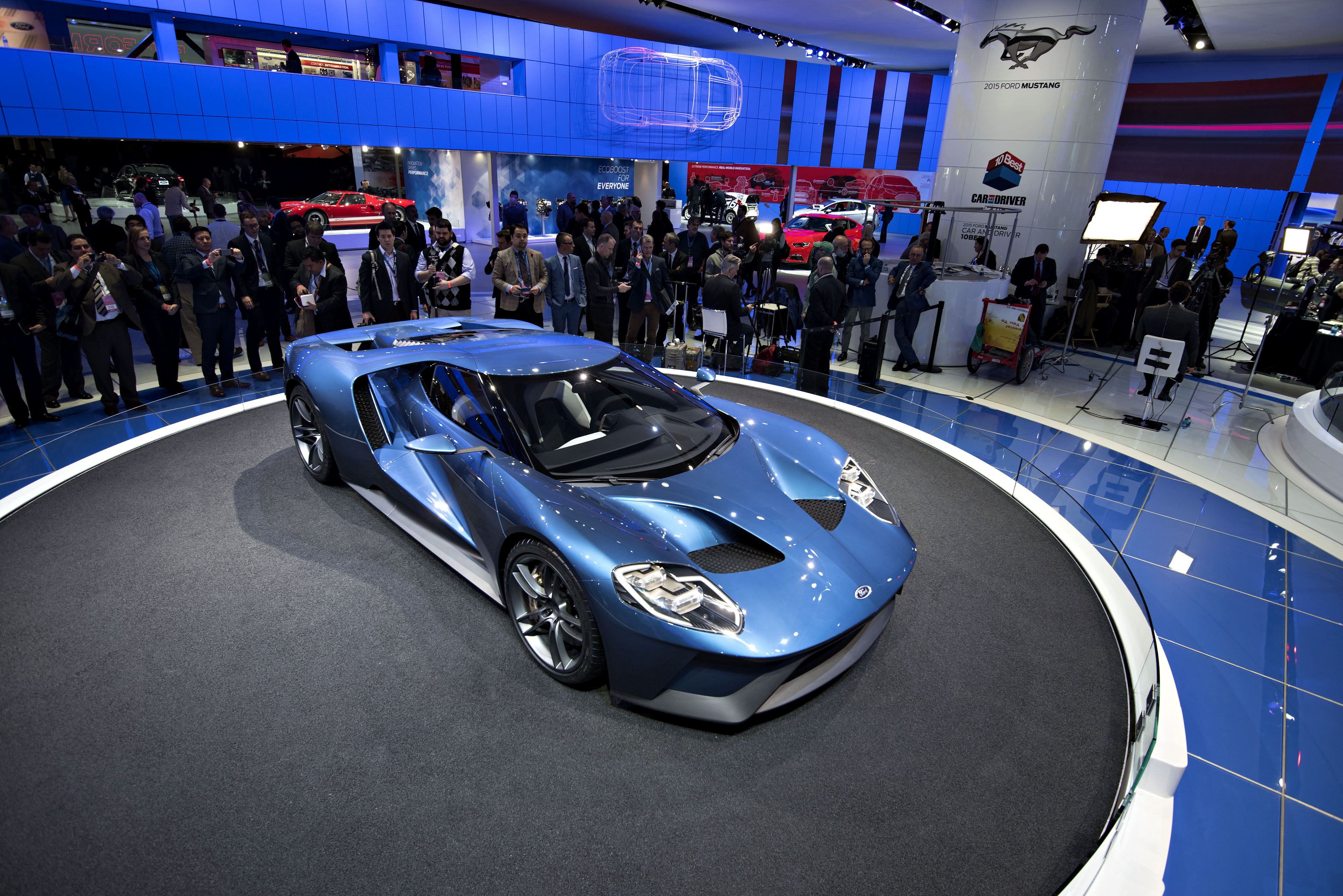 Hot cars at the Detroit auto show  The Japan Times