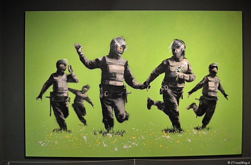 'Beanfield' van Banksy