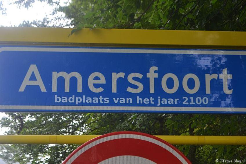 Amersfoort tijdens de 8e etappe van het Westerborkpad