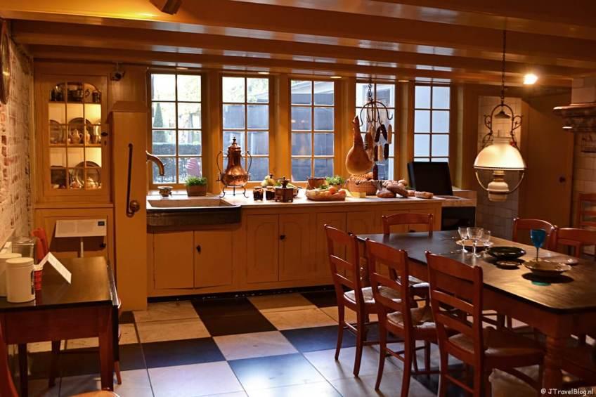 De keuken in Museum Willet-Holthuysen in Amsterdam