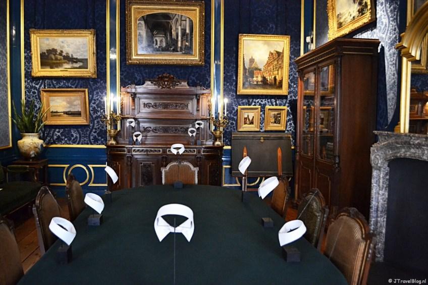De herenkamer in Museum Willet-Holthuysen in Amsterdam
