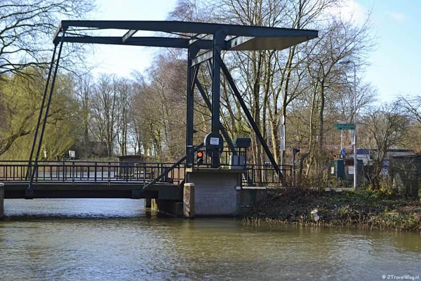 De Amsterdamsepoortbrug in Muiden