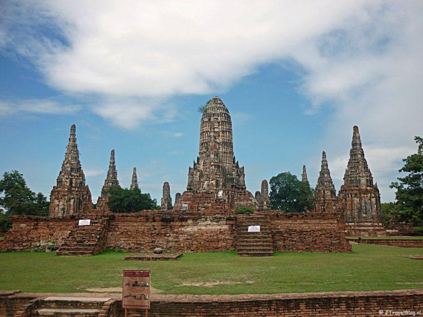 Ayutthaya in Thailand op de Werelderfgoedlijst van UNESCO