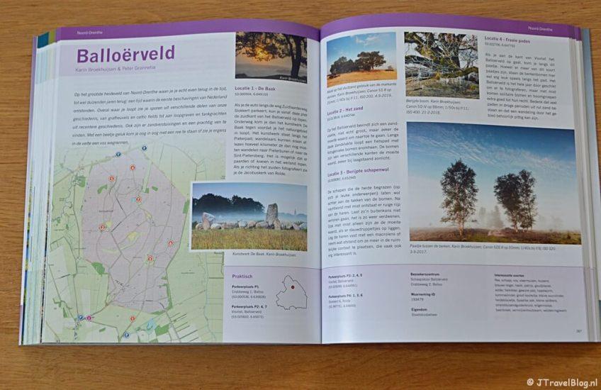 Balloërveld in het boek 'De mooiste fotolocaties van Noord-Nederland'