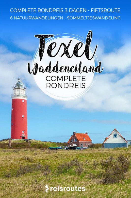 Boek met een complete rondreis op Texel