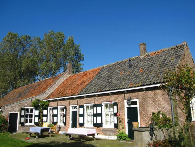 Boerderij in Oostkapelle/Zeeland via Natuurhuisje.nl