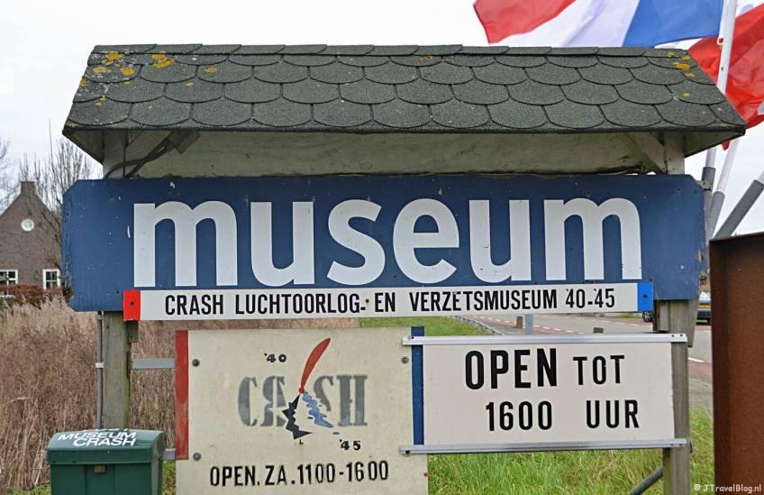 Het CRASH Luchtoorlog- & Verzetsmuseum '40-'45 in Aalsmeerderbrug