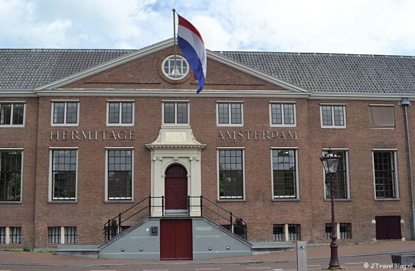 De Hermitage in Amsterdam tijdens etappe 0 van het Westerborkpad