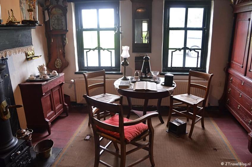 De woning bij de Joodse Slagerij in Openluchtmuseum Het Hoogeland in Warffum