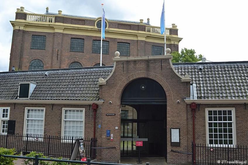 De Portugese Synagoge in Amsterdam tijdens etappe 0 van het Westerborkpad
