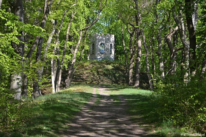 De Belvedere op Buitenplaats Leyduin tijdens de Groene Wissel Vogelenzang