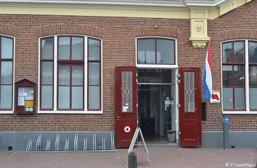 De entree van Openluchtmuseum Het Hoogeland in Warffum
