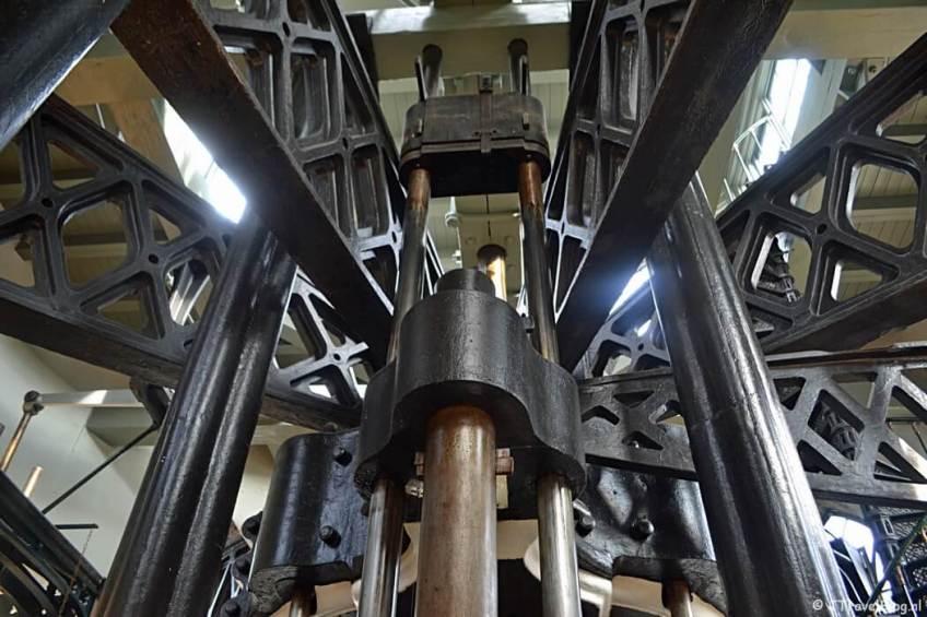 De stoommachine in het Cruquius Museum