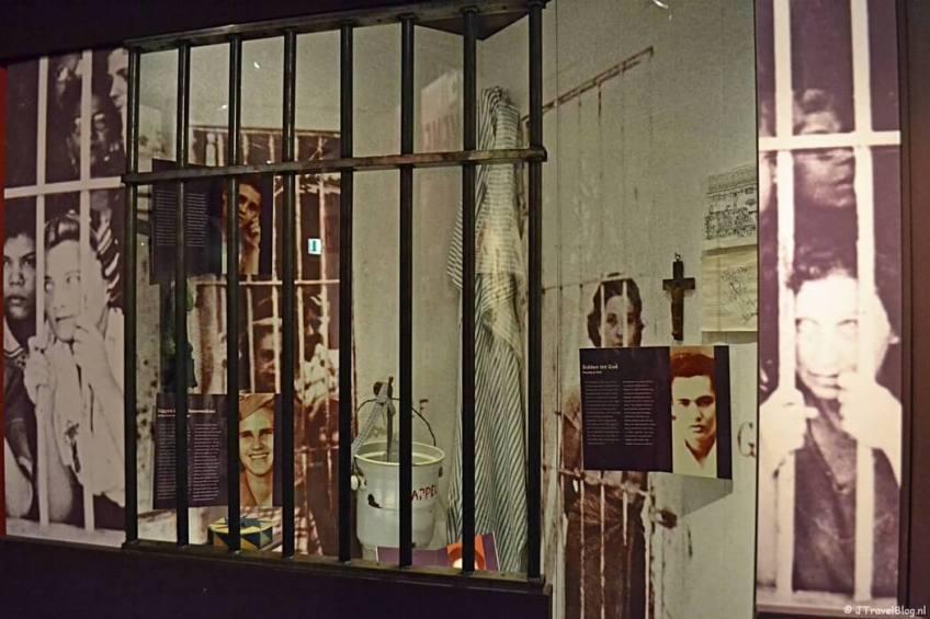 De tentoonstelling Nederlands-Indië in het Verzetsmuseum in Amsterdam