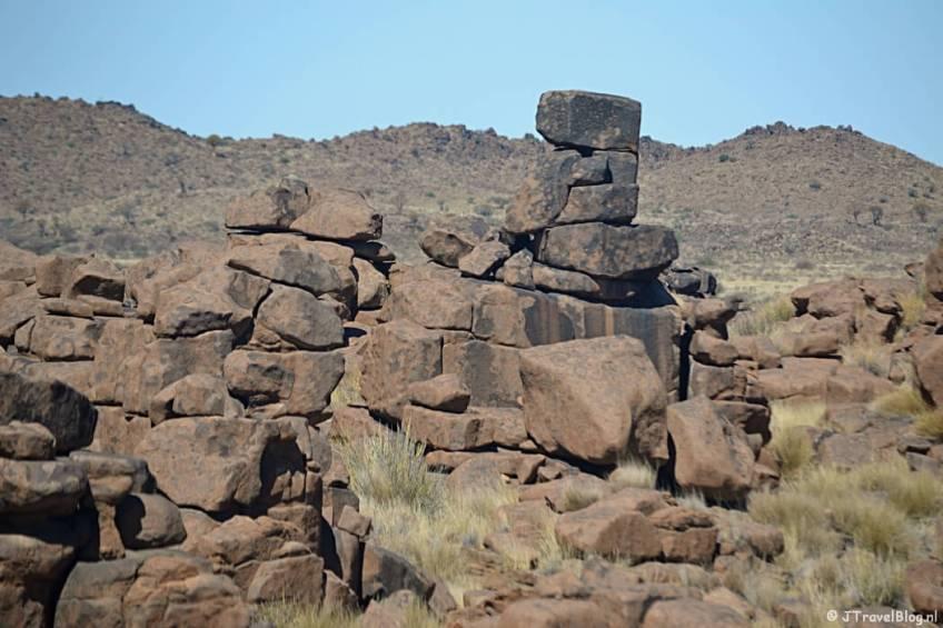 Een tegenvaller op reis: Giant's Playground in Namibië