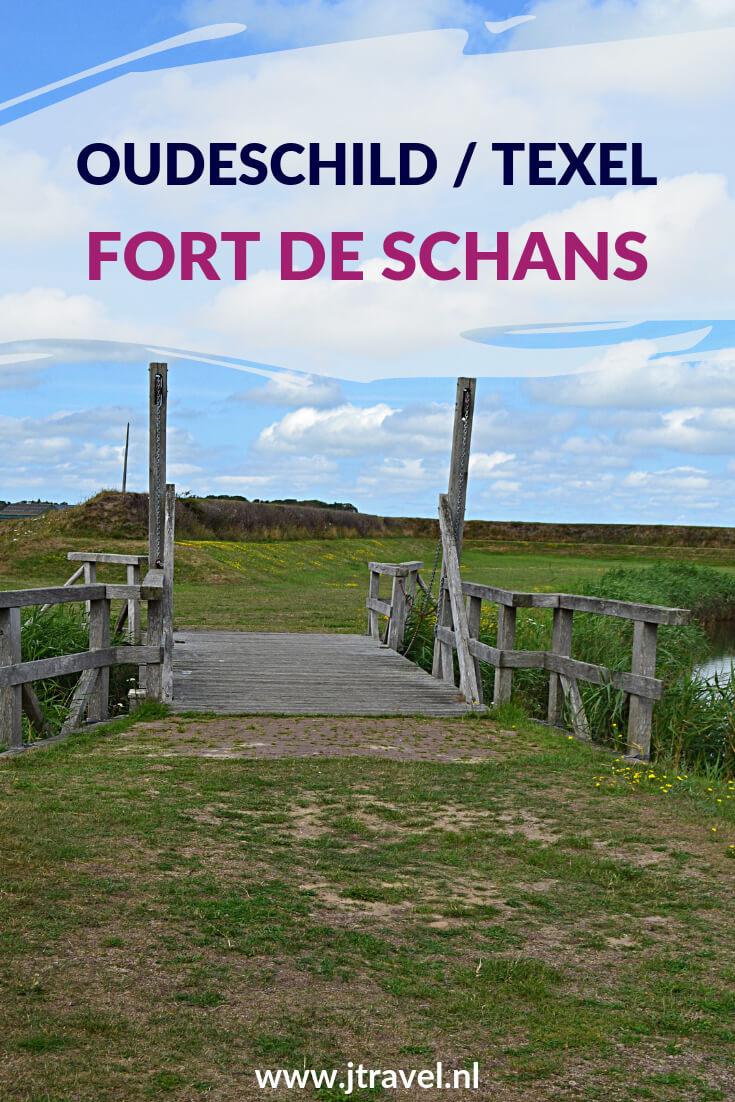 Net buiten Oudeschild op Texel ligt Fort de Schans, een oase van rust. Er leven vogels, insecten en kleine zoogdieren. Vanaf de wallen heb je een prachtig uitzicht over de omgeving. Meer over Fort de Schans lees op mijn website. Lees je mee? #fortdeschans #oudeschild #texel #jtravel #jtravelblog