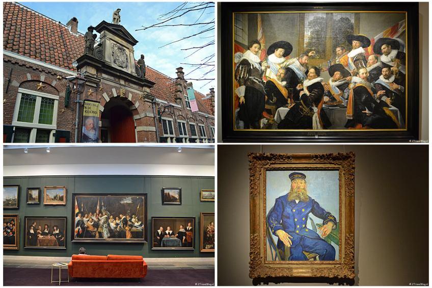 Uitje naar het Frans Hals Museum in Haarlem in het kader van mijn therapie