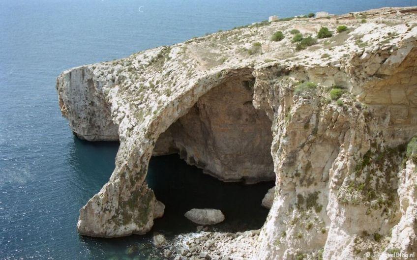 Een fotonegatief ingescand: Gozo/Malta