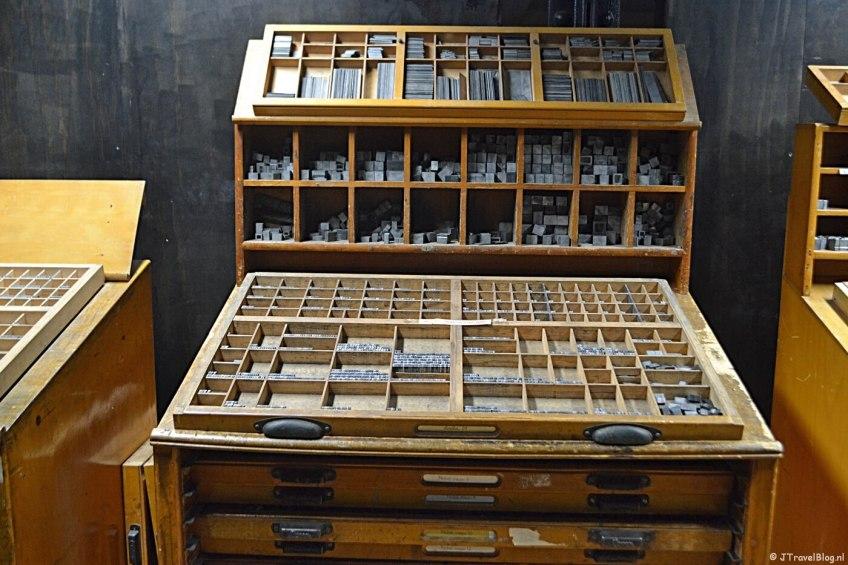 Het GRID Grafisch Museum in Groningen