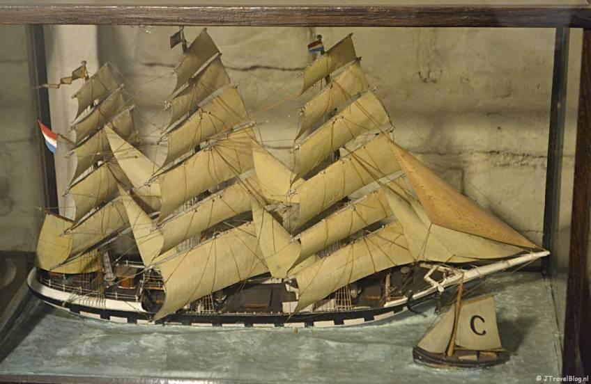 Het Noordelijk Scheepvaartmuseum in Groningen