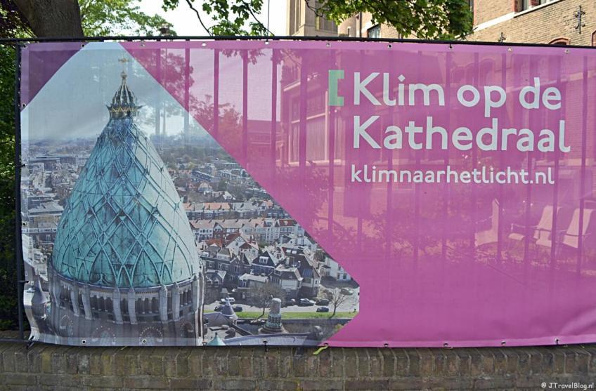 'Klim naar het licht' in de KoepelKathedraal in Haarlem