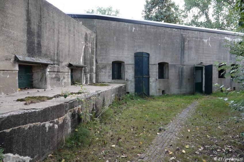 Fort bij De Kwakel tijdens mijn wandeling van het Fortenpad van Wandelnetwerk Amstelland/Noord-Holland
