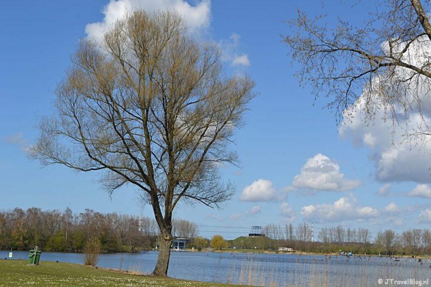 Het Haarlemmermeerse Bos in Hoofddorp tijdens de Trage Tocht Vijfhuizen