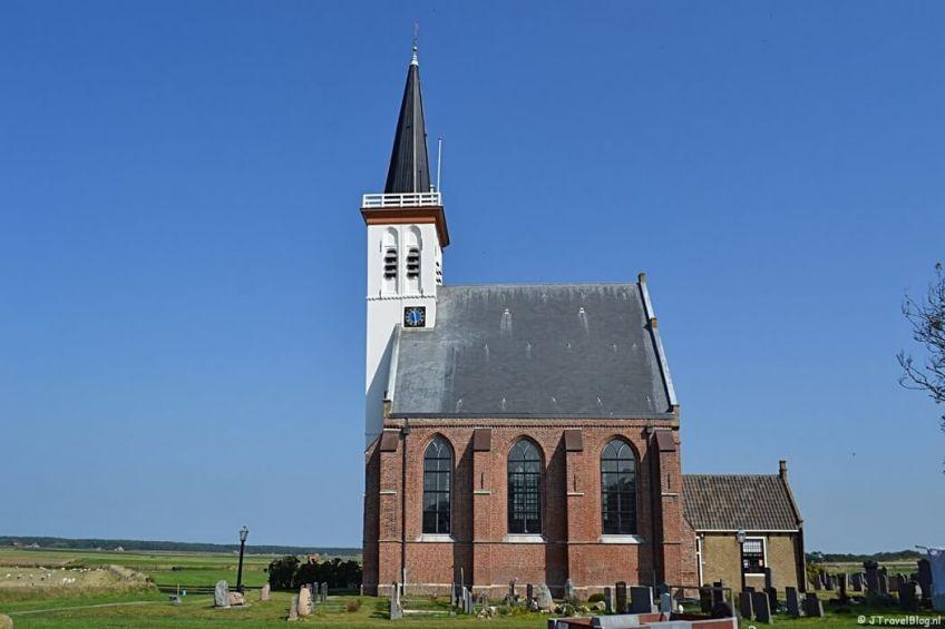 De kerk in Den Hoorn op Texel