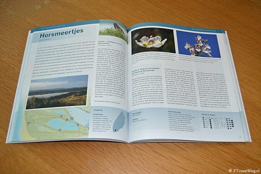 De Horsmeertjes in het boek 'De mooiste fotolocaties van Texel'