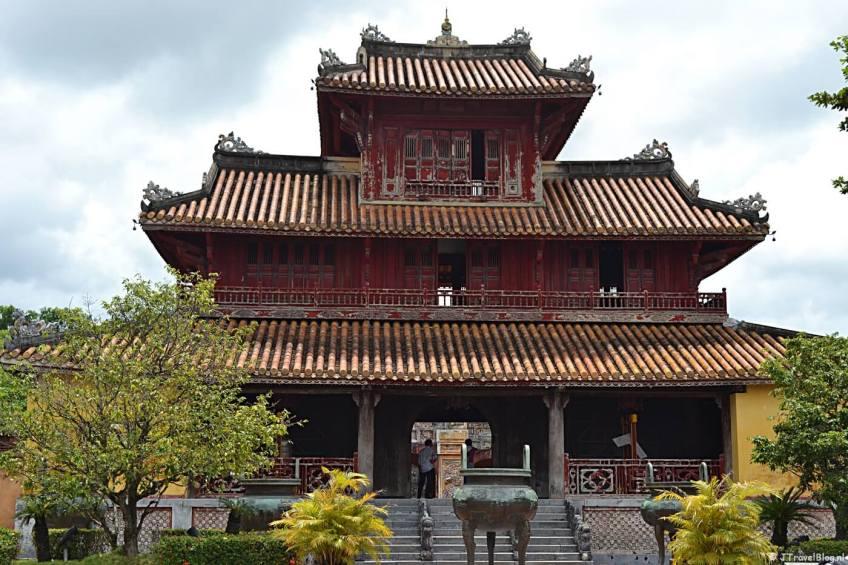 Hué in Vietnam op de Werelderfgoedlijst van UNESCO