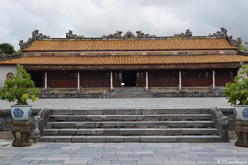 In de Citadel van Hué