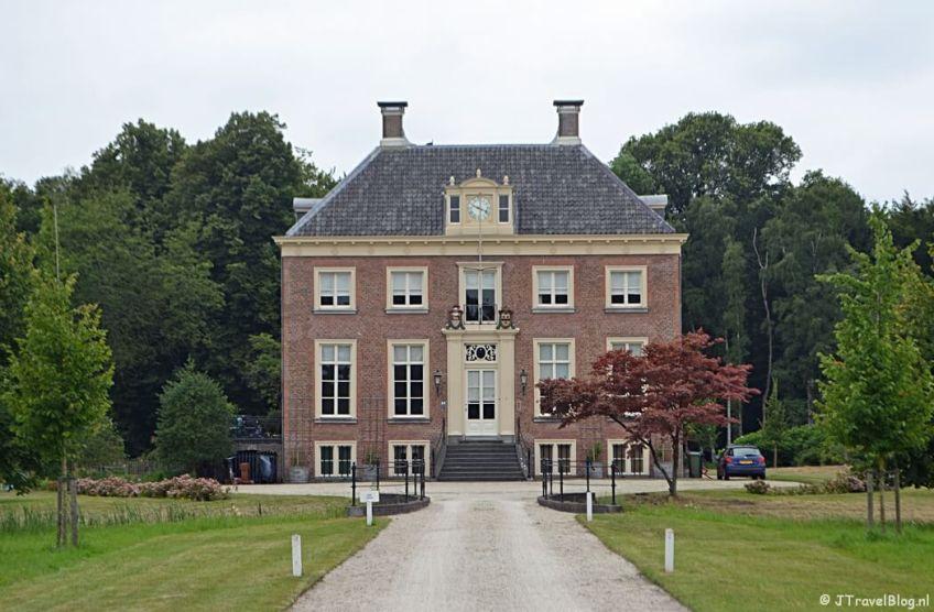 Huis te Manpad in Heemstede tijdens het fietsen van de Manpadroute