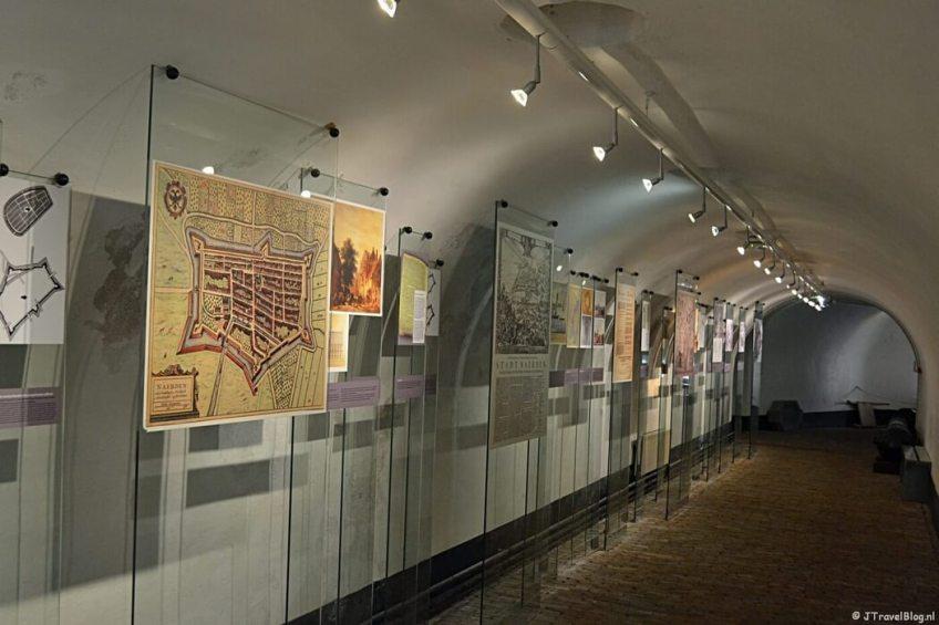 In kazemat Z in het Nederlands Vestingmuseum in Naarden