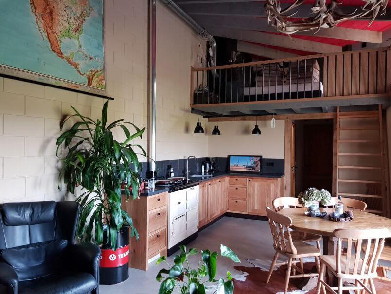 Mestsilo in Akersloot/Noord-Holland via Natuurhuisje.nl
