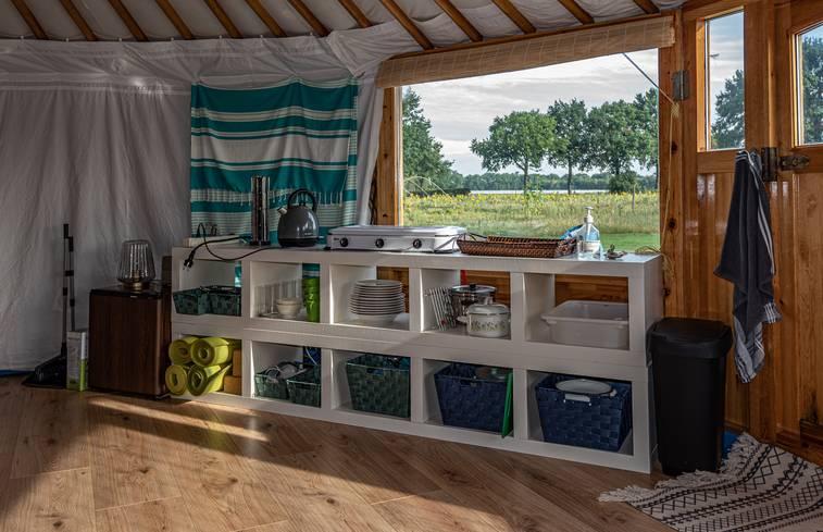 Yurt in Klein Zundert/Noord-Brabant via Natuurhuisje.nl
