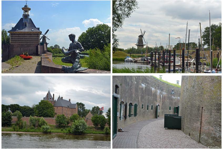 Instameet Waterliniepad deel 3 met Gorinchem, Woudrichem, Slot Loevestein en Fort Vuren.