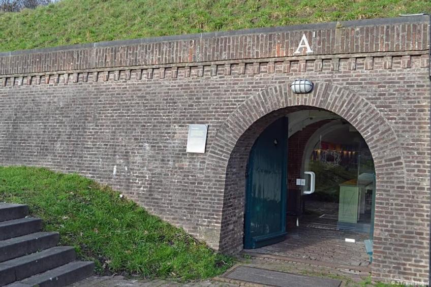 Kazemat A in het Nederlands Vestingmuseum in Naarden
