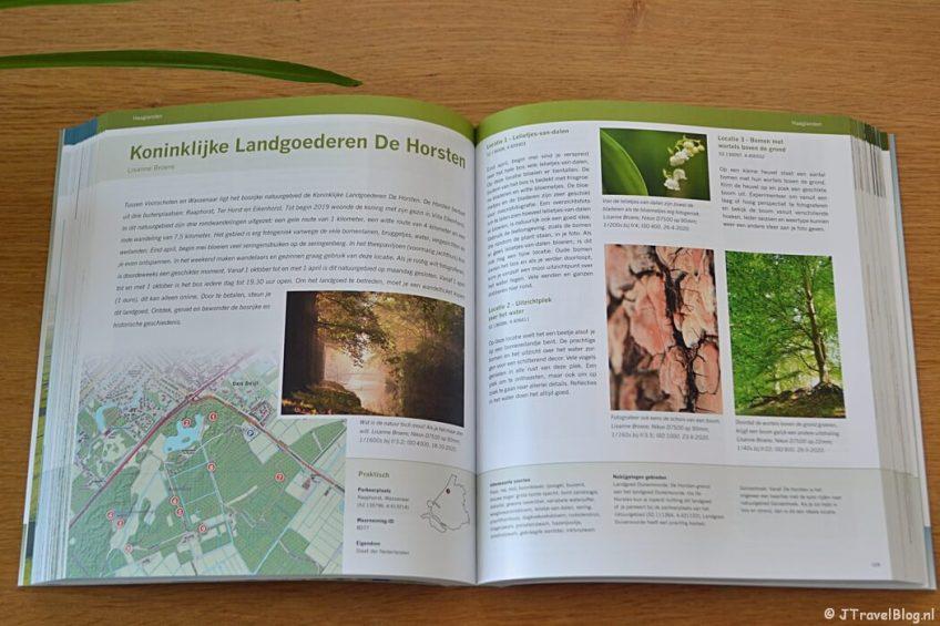 Koninklijke Landgoederen De Horsten in het boek 'De mooiste fotolocaties van West-Nederland'