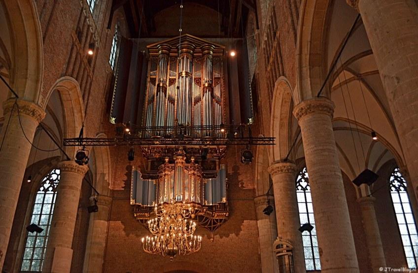 De Pieterskerk in Leiden
