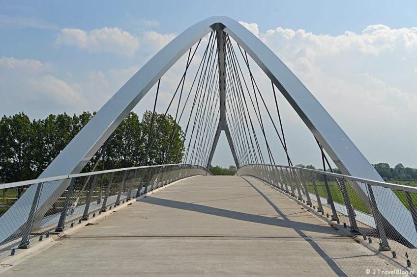 De Liniebrug tijdens de Instameet Waterliniepad - deel 1