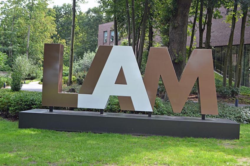 Het LAM (Lisser Art Museum) in Lisse